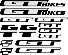 Bike Frame Stickers Decals Reflective Replacement Kit For Road Bike MTB Cycling