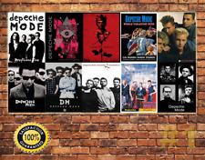 JOB LOT 10 X Métal Tin Signe Plaque Murale depeche mode collection #1