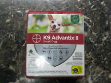 New listing K9 Advantix Ii -Flea control and treatment - Small Dog 4-10 lbs - 4 Pack New