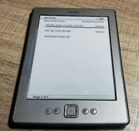 Amazon Kindle (4th/5th Generation) 2GB, WiFi, 6in, D01100, Gray, eReader
