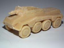 WWII Sd. KFZ. 234/3 75mm Chiusura Supporto AUTOBLINDA 20MM scala del modello in resina kit-G26