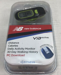 New Balance Pedometer Fitness Series VIA Active USB NEW MODEL 50068NB