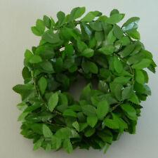 Garland Rosenblatt Rose Petals Minigirlande Wedding Christening Engaged Green