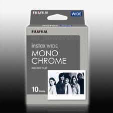 Fujifilm Fuji Instax Wide Monochrome Mono for Instant 210 300 Camera 10 Film