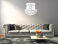 Everton Fc White Logo Premier League Decals Vinyl Sticker For Room Bedroom