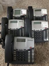 (Lot of 5) Inter-Tel Mitel 8520 Business 2 Way Speakerphone LCD Display Intertel