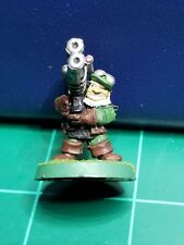 Warhammer 40k Space Dwarf Rogue Trader Squat Heavy Weapon All Metal Rare OOP #1