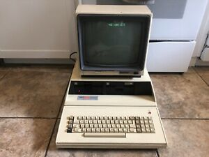 Vintage FRANKLIN ACE 1200 Computer Apple II Clone w/ Monitor Tested Working