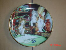 Lovely Franklin Mint Collectors Plate PEN PALS Cat Kitten