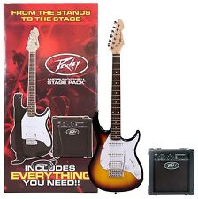 Peavey Raptor Electric Guitar Stage Pack Sunburst 03585380