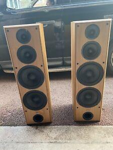 ELTAX XTREME 400 - 2 POWERFUL Floor Standing Speakers Wooden 1071 Big Pair Of