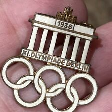 OLYMPIC GAMES 1936 BERLIN PIN RARE VINTAGE