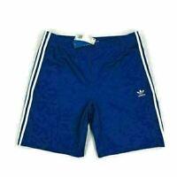 Adidas Mens Snap Shorts Adibreak Retro Style Blue Variety Sizes