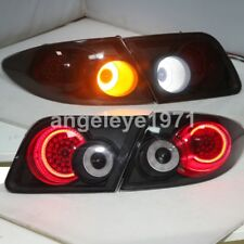 LED back lamps For Mazda 6 M6 six LED Taillights Black housing 2003-2011 Year