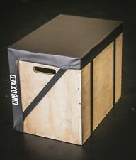 "Wood Plyometric Box Cover The Unboxxed Cover SAVES YOUR SHINS!! 30""x24""x20"""