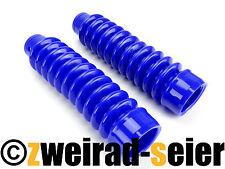 SET Faltenbalg blau für Telegabel Simson S50, S51, S53, S70, S83, SR50, SR80