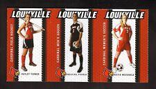 2011 Louisville Cardinals Fall Sports Schedules--strip of five