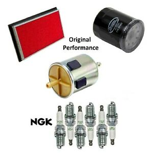 Tune Up Kit Air Oil Fuel Filters Spark Plugs For INFINITI I30 V6 3.0L 1996-1999
