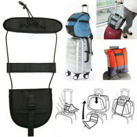 Add A Bag Strap Travel Luggage Suitcase Adjustable Belt Carry On Bungee Easy FBB