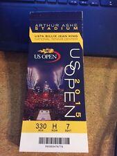 2015 US Open Tennis Ticket Stub BOOK SET FINAL DJOKOVIC FEDERER SERENA WILLIAMS