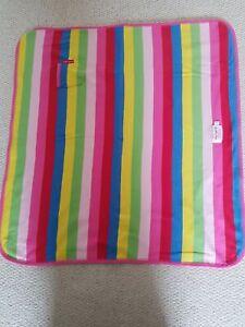 Toby Tiger Baby Blanket Organic cotton vgc