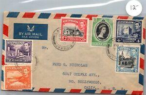 GP GOLDPATH: CYPRUS COVER 1953 AIR MAIL _CV568_P17