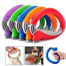 3 Pcs/pack Home One Trip Grips Shopping Grocery Bag Holder Handle Carrier Lock K