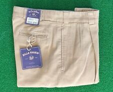BRAND NEW Bills Khakis M2 Pleated Front Oxford Canvas - Size 32 - MSRP $165