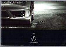 Mercedes-Benz AMG 2006-07 UK Brochure C CLK SLK E CLS R S CL SL ML G 55 63 65