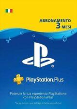 PlayStation Plus Abbonamento PS4 3/12 mesi 1 anno - Italia - serial key PSN