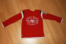 CATIMINI : tee-shirt manches longues, rouge - Taille 6 ans