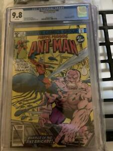 MARVEL PREMIERE #48 CGC 9.8 White Pages 2ND APPEARANCE OF NEW ANT-MAN SCOTT LANG