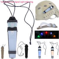E-Lite Strobe Light Safety Lamp Survival Helmet LED Airsoft IR Signal Sports