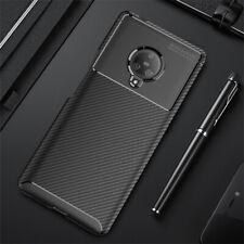 For Vivo NEX 3 IQOO Neo Z5X Y17 Y3 X27 V17 V15 Pro Carbon fiber TPU Cover Case