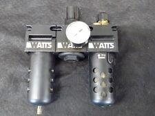 "Watts Fluidair Filter, Regulator, Lubrication System 3/8"", 0-150 Psi Gauge"