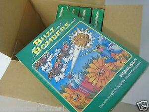Brand New Sealed Intellivision Buzz Bombers Video Game System