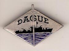 MARINE   1942 - 1944    PATROUILLEUR   DAGUE      EBY,  probablement  en  ARGENT