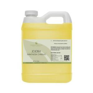 Gold Jojoba Oil 100% pure non-gmo unrefined cold press virgin 32 OZ hohoba bulk
