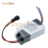 2PCS LED Electronic Transformer Power Supply Driver 3X1W AC 85V-265V to DC 12V