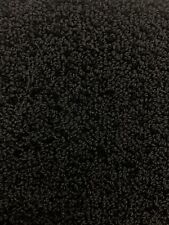 Loop Automotive Carpet color black 43 inches Wide 2 yards