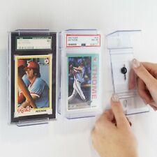 PSA Graded Trading Card CardMount™ Frame Wall Mount & Shelf Stand, Adjustable