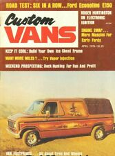 1976 April Custom Vans Magazine Back-Issue