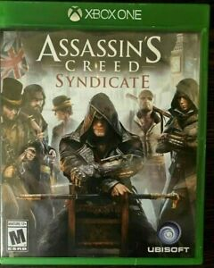 Assassin's Creed: Syndicate (Xbox One, 2015) XB1 GAME DISC & CASE LONDON 1868