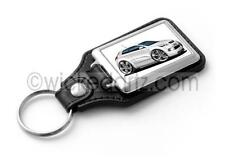 WickedKarz Cartoon Car Kia Pro_cee'd in White Stylish Key Ring