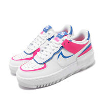 Nike Wmns AF1 Shadow Air Force 1 White Pink Womens Lifestyle Shoes CU3012-111