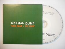 HERMAN DUNE : YOUR NAME / MY GAME [ CD SINGLE PORT GRATUIT ]