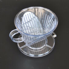 Coffee Filter Clever Coffee Dripper Cone Reusable Brewer Portable Clear