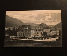 Postkarte Bezirkskrankenhaus Geislingen 1915