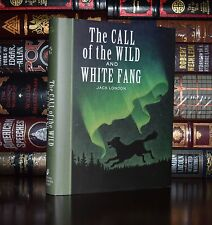 Call of the Wild White Fang Jack London Unabridged New Illustrated Hardcover Ed