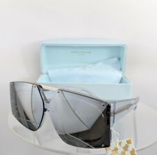 41ec9eccebc Brand New Authentic Karen Walker Sunglasses SALVADOR Transparent Silver  Frame